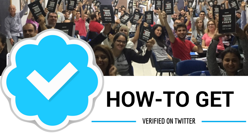 Get Verified As A Speaker On Twitter