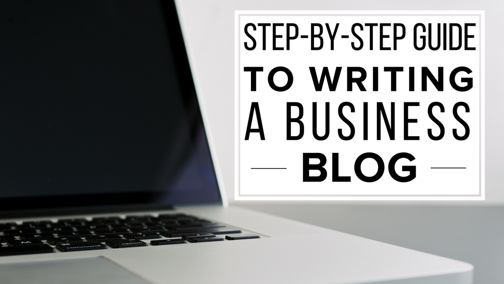writing a business blog