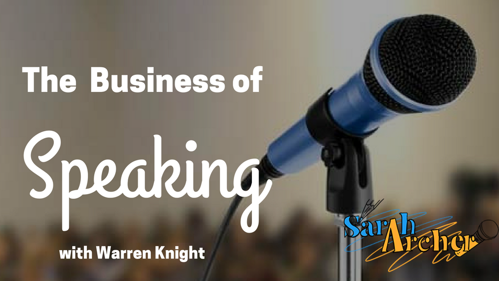 The Business of Speaking