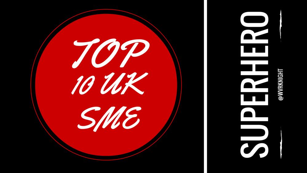Top 10 UK SME Superhero