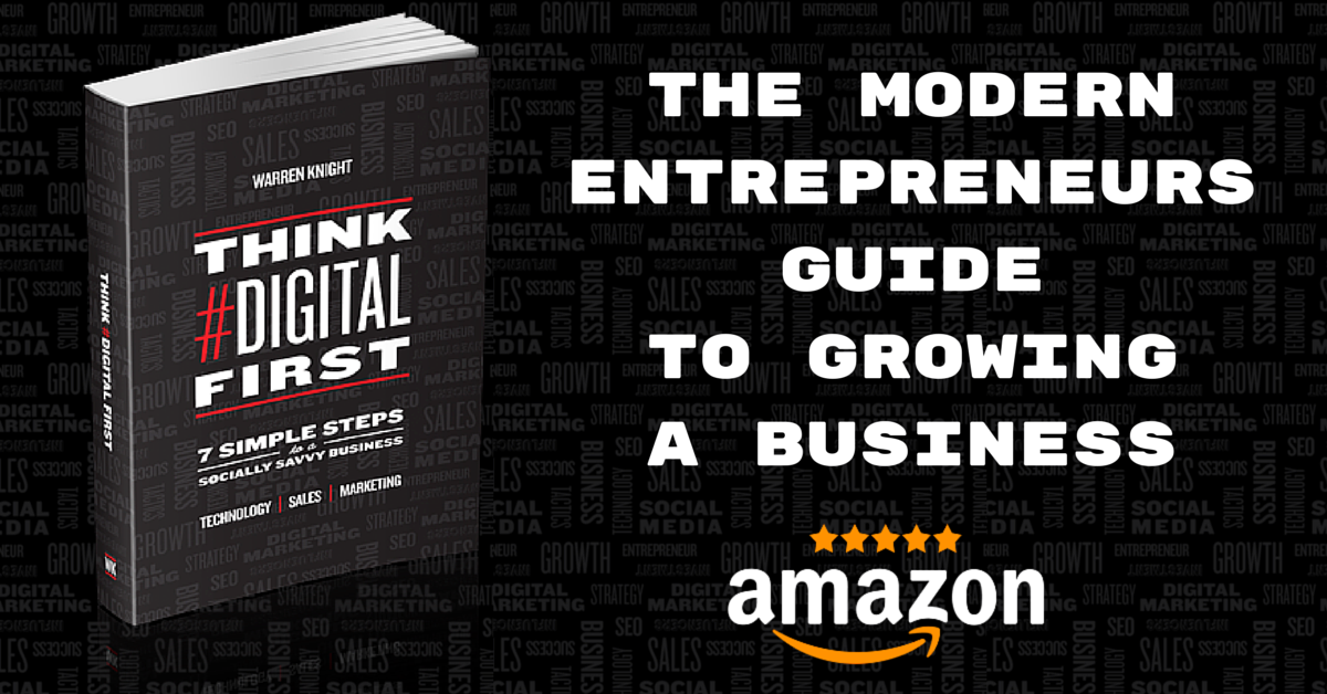 Think #Digital First 5* Amazon