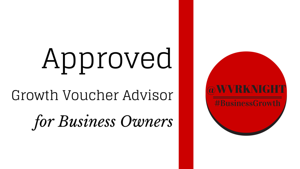 Approved Growth Voucher Advisor for Business Owners