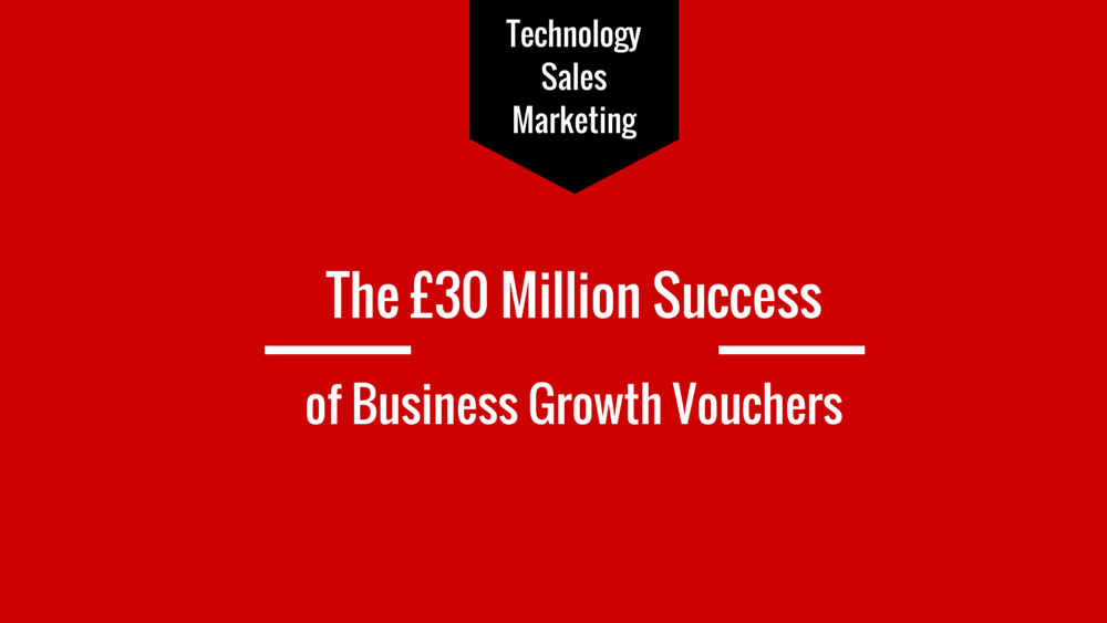 The £30 million success of business growth vouchers