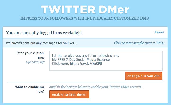 Twitter Dmer