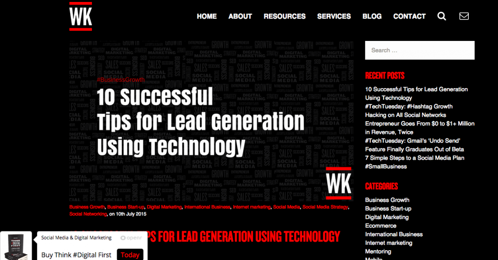 10 Successful Tips for Lead Generation Using Technology
