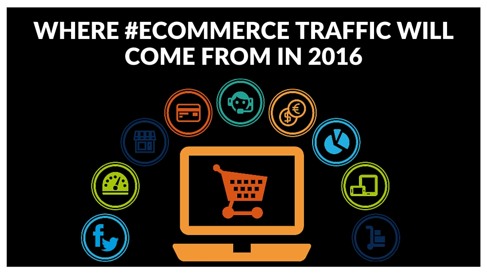 Where Ecommerce Traffic Will Come From in 2016