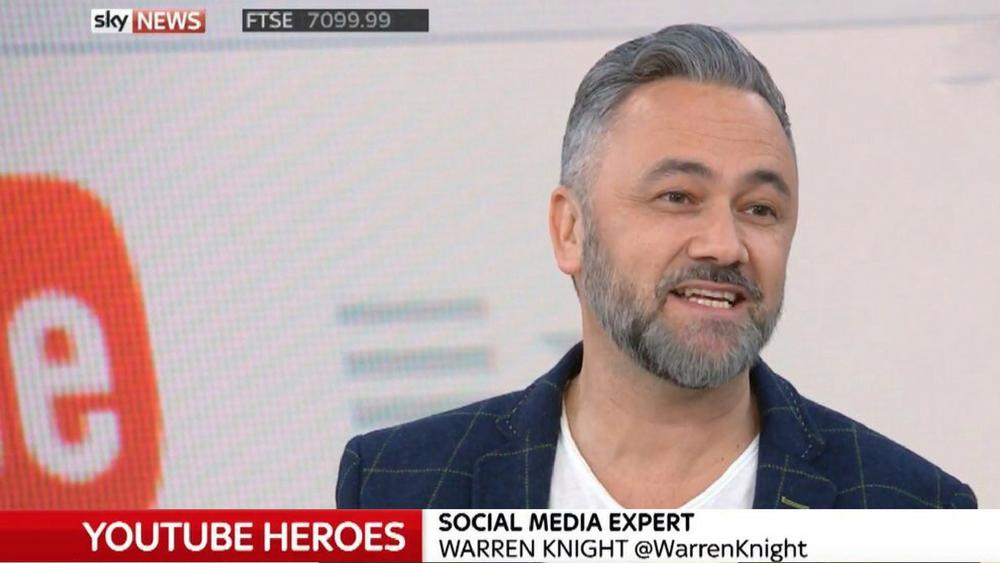 Social Media expert on Sky News