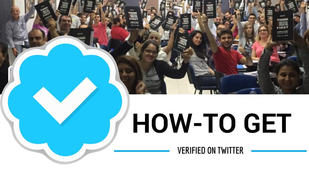 Get Verified As A Speaker On Twitter