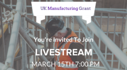 live stream UK grant funding