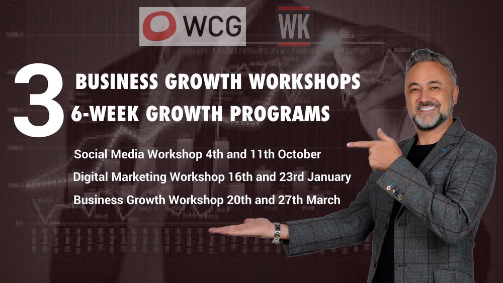 WCG WK Training business growth warwickshire