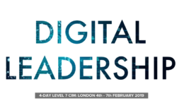 Digital Leadership LEVEL 7 CIM Warren Knight