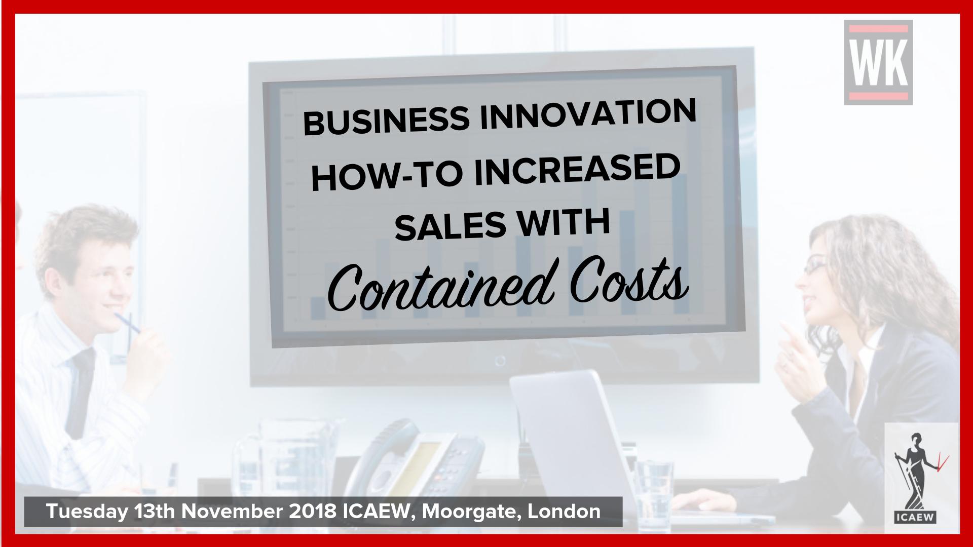 ICAEW Innovation Keynote Speaker Warren Knight