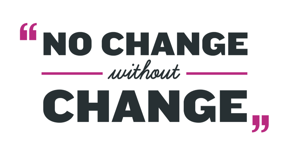 No Change Without Change