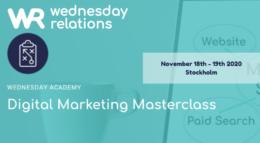 Wednesday Relations - Stockholm - November 2020