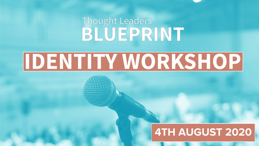 Thought Leaders Blueprint Identity Workshop