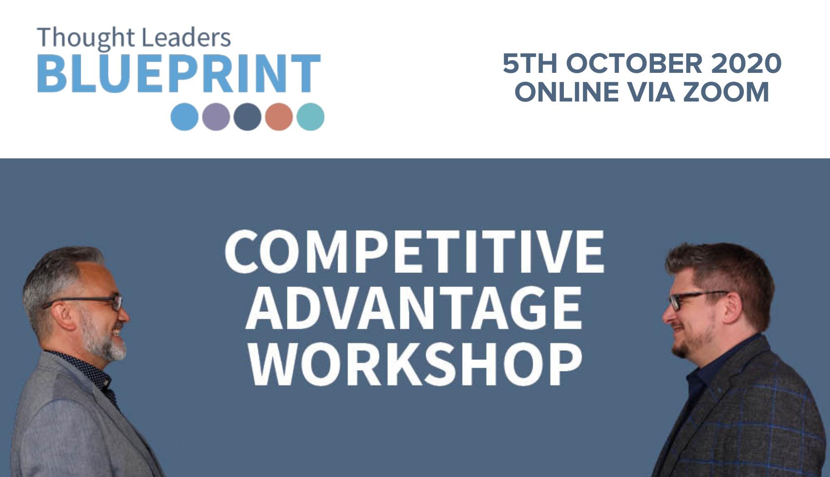 Thought Leadership Blueprint - Competitive Advantage Workshop